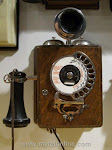 Wood Wall Phones - Strowger Wall