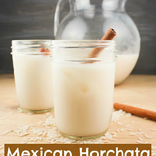 Mexican Horchata ~ Delicious Rice & Cinnamon Drink