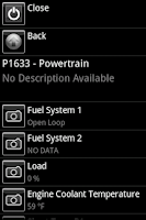 Screenshot of Car Gauge Lite OBD2
