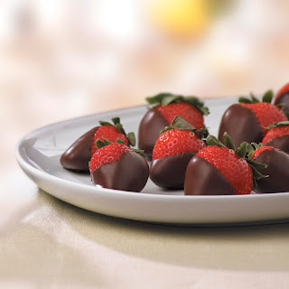 Luscious Chocolate Covered Strawberries