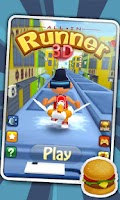 Screenshot of 3D City Runner