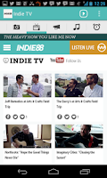 Screenshot of Indie88