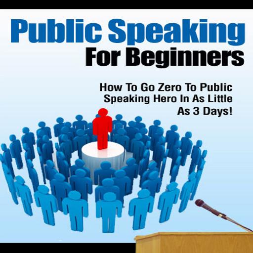 Public Speaking Guide LOGO-APP點子