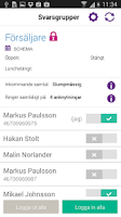 Screenshot of Telia Jobbmobil Växel