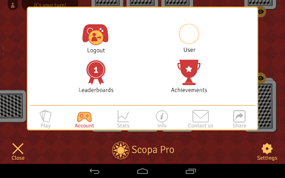 Scopa Pro APK screenshot thumbnail 13