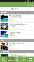 Screenshot of Samoa Smart Guide