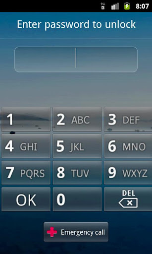 按鈕鎖定屏幕