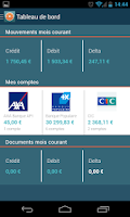 Screenshot of Moneydoc finance budget factur