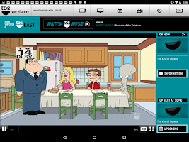 Screenshot of WATCH TBS for Tablets