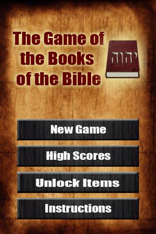 Game - The Books of the Bible