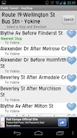 Screenshot of Perth Transit: AnyStop