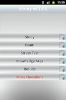 Screenshot of iStudy NCLEX-RN Free