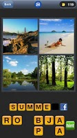 Screenshot of 4 Pic Word Challenge HD