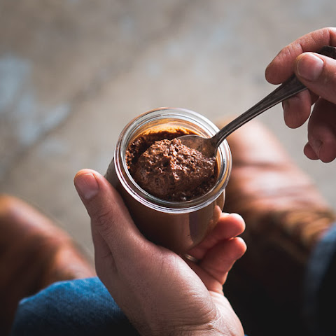 Salted Butter Caramel-Chocolate Mousse