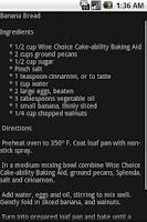 Screenshot of Gluten Free Recipes 1000