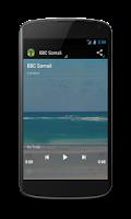 Screenshot of BBC Somali + VOA