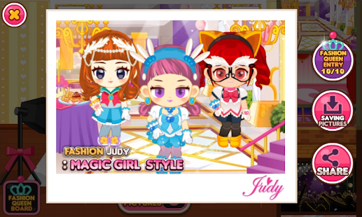 Game Fashion Judy Magic Girl Style Apk For Windows Phone Android Games And Apps