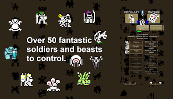 Screenshot of 8 bit Warlords of Magic