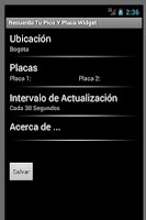 Screenshot of Recuerda Tu Pico y Placa