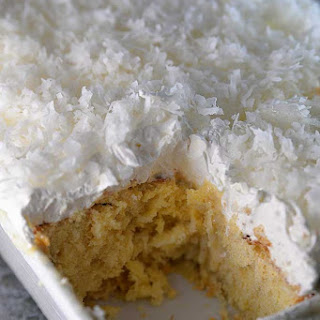Coconut Cake With Cream Of Coconut Milk Recipes