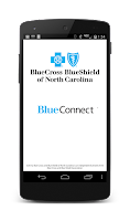 Screenshot of Blue Connect Mobile