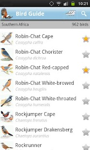 Roberts Multimedia Birds of SA - screenshot