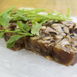 Teochew style Jelly Pork Meat by Benny Ng - Food & Drink Plated Food