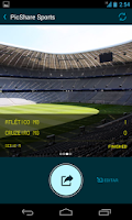 Screenshot of PicShareSports Sports Results