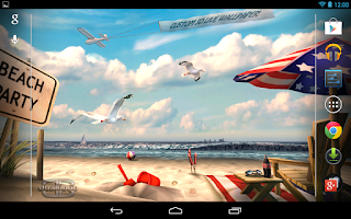 Screenshot of My Beach HD