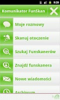 Screenshot of Komunikator FunSkan