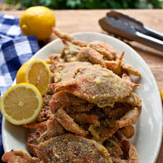 Crunchy Soft-Shell Crabs