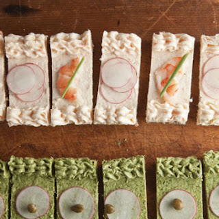Shrimp and Herb Canapés