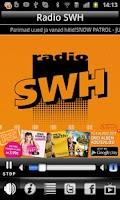 Screenshot of Radio SWH 105.2 FM