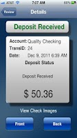 Screenshot of Georgia United Swift Deposit