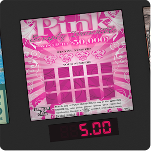 ===PINK Lotto Scratch Card===