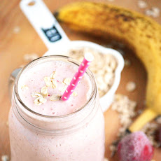Strawberry Banana Oatmeal Smoothies