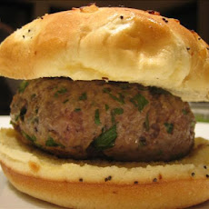 Blue Cheese Lamb Burgers
