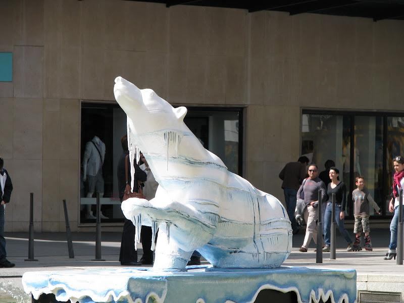 Essais du Canon Powershot S5 IS - Sculpture d'ours