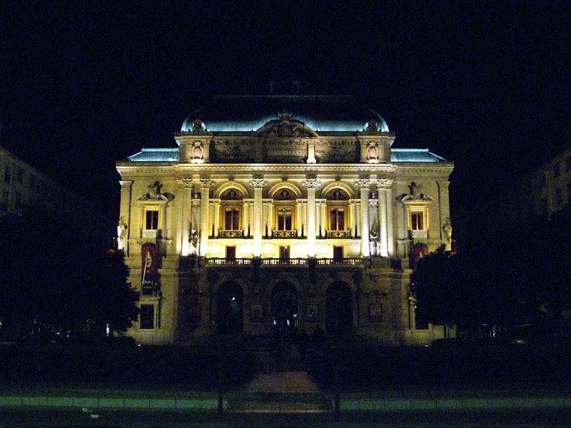 Lyon by night - Théâtre des Célestins