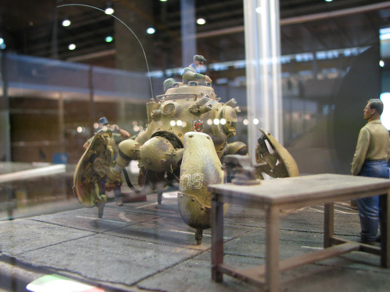 Quadripode steampunk