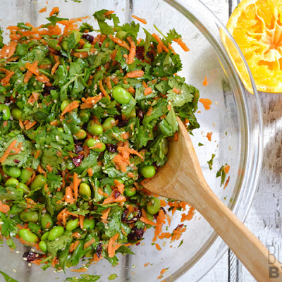Orange Balsamic Cilantro Salad