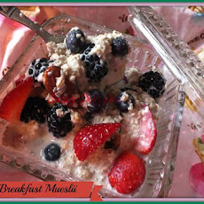 Berry Breakfast Muslii