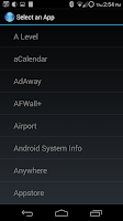 Screenshot of Bluetooth AutoStart Launcher