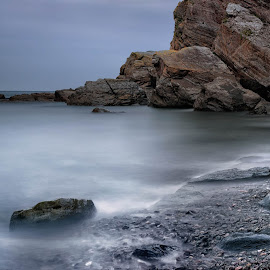 heddons mouth by Alan Ranger - Landscapes Waterscapes ( algenon, sony, info@alanranger.com, sony a900, devon, heddons mouth, long exposure, www.alanranger.com, seascape, alan ranger photography, alan ranger, carl zeiss vario-sonnar t* 24-70mm f2.8 za ssm )