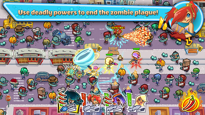 Guns'n'Glory Zombies Premium Screenshot 3