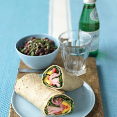 Beef and Mango Wraps