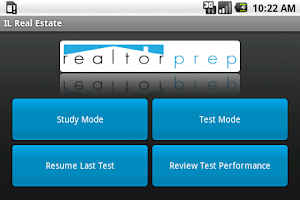 Screenshot of Illinois Real Estate Exam Prep