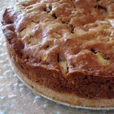 Apple Cake with Brown Sugar Sauce
