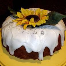 Sour Cream Poppy Seed Cake