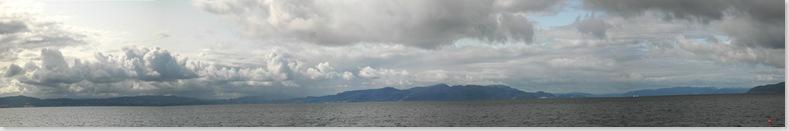Trondheimsfjord Panorama